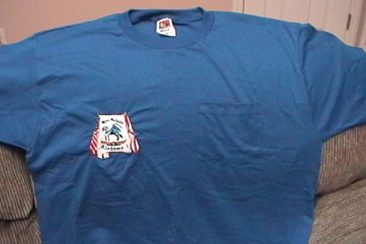 Blue AL I Pocket T: $15 See Jay