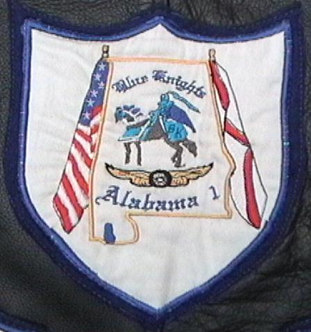 Detail of Alabama 1 Crest